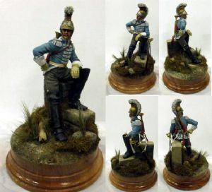 French Trumpeter of Carabiniers 1809